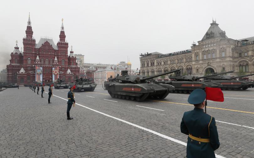снимка 2 В Москва се проведе традиционният парад за Деня на победата (СНИМКИ)