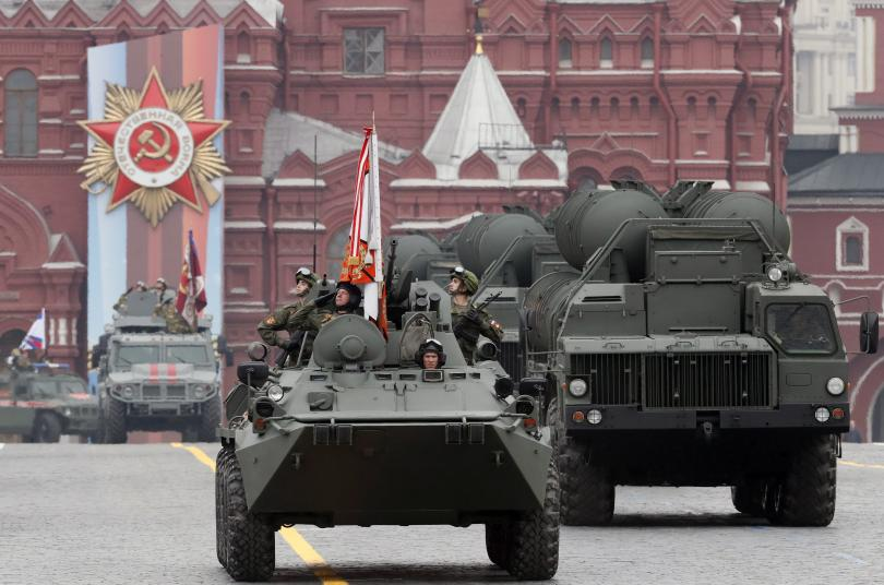 снимка 1 В Москва се проведе традиционният парад за Деня на победата (СНИМКИ)