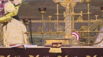 Мощи на Свети Климент Охридски пристигнаха в България