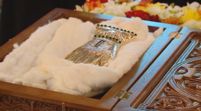 Православни реликви идват за поклонение в града всяка година в