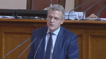 Петър Москов беше изслушан в парламента за лекарските протести