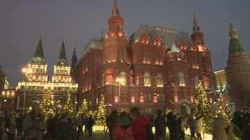 Празнично настроение от Москва