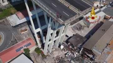 Жертвите на рухналия край Генуа мост вече са 42