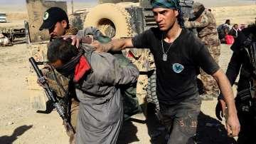Иракските сили навлизат бавно в Западен Мосул