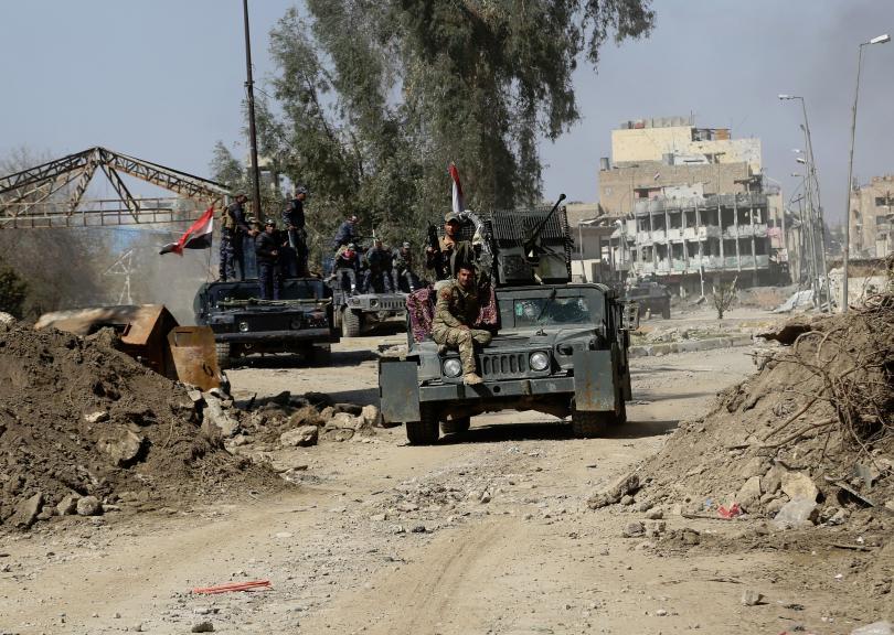 Иракските сили превзеха затвор край Мосул