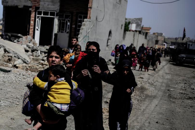 джихадисти ислямска държава избиха мирни жители мосул