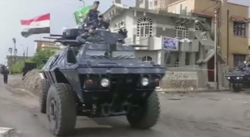 премиерът ирак обяви освобождаването мосул