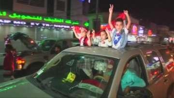 Мосул празнува след победата на иракските сили срещу Ислямска държава