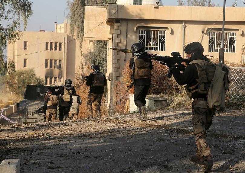 иракските сили отвоюваха университета мосул ислямска държава