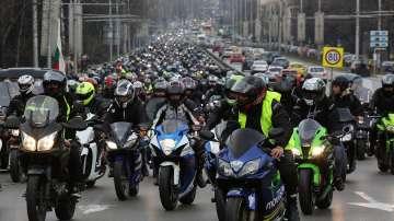 Мотористите откриха сезона с шествие в столицата