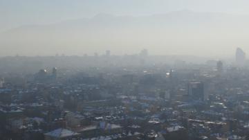 Предупреждение за мръсен въздух в София, Пловдив, Велико Търново, Русе и Перник