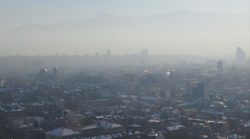 Отново мръсен въздух в столицата. Официалните данни на общината показват