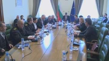 Работна среща в Министерския съвет за предсрочните избори