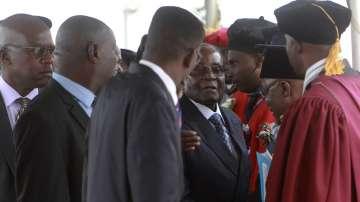 Мугабе се появи за първи път публично след ареста му