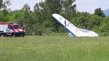 Вероятната причина за авиоинцидента край Мъглиж е техническа неизправност