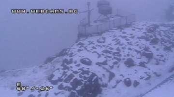 Падна първият сняг на Мусала