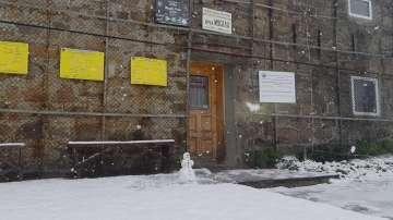 Сняг валя на Мусала