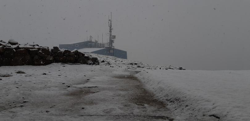 снимка 1 Сняг валя на Мусала