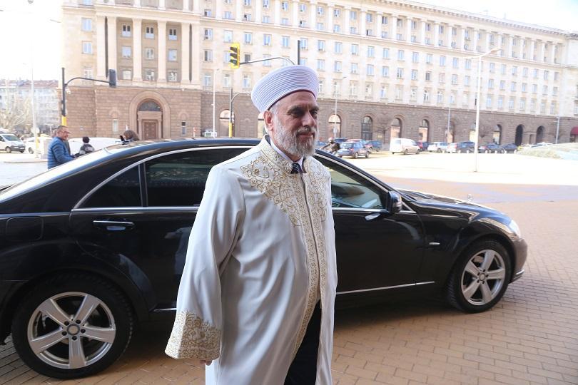 снимка 1 Борисов, патриархът и главният мюфтия обсъдиха дълговете на вероизповеданията