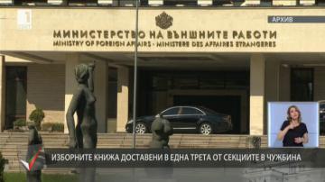 Външното министерство се отчита за подготовката на вота в чужбина