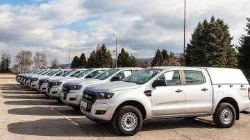 МВР получи 9 нови автомобила, обособени като технически работилници