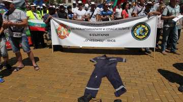 Полицейски протест беляза празника на МВР