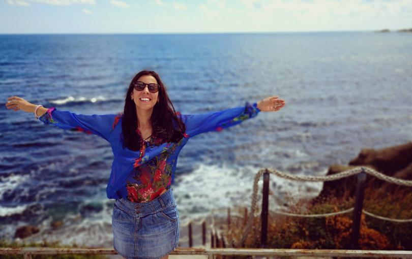 """Надежда завършва френска гимназия в Пловдив. След което учи """"География"""""""