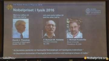 Трима британци си поделиха нобеловата награда за физика