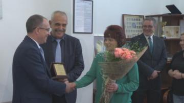 БДЖ награди служителите от влака София - Бургас, който се запали на гара Коньово