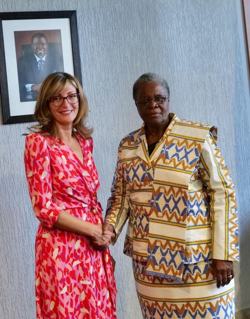 снимка 2 Първа визита на български външен министър в Намибия