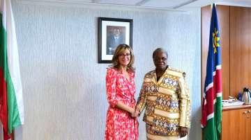 Първа визита на български външен министър в Намибия
