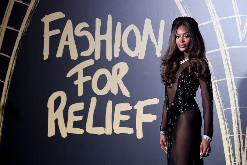 Топ моделът Наоми Кембъл се завърна в родния си град