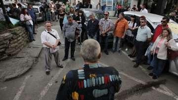 Протест на работещите в системата на НАП