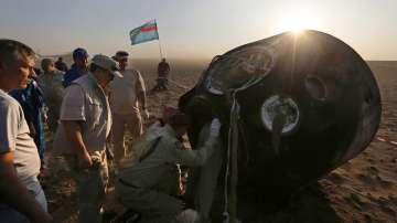 Капсулата Союз успешно се приземи в Казахстан