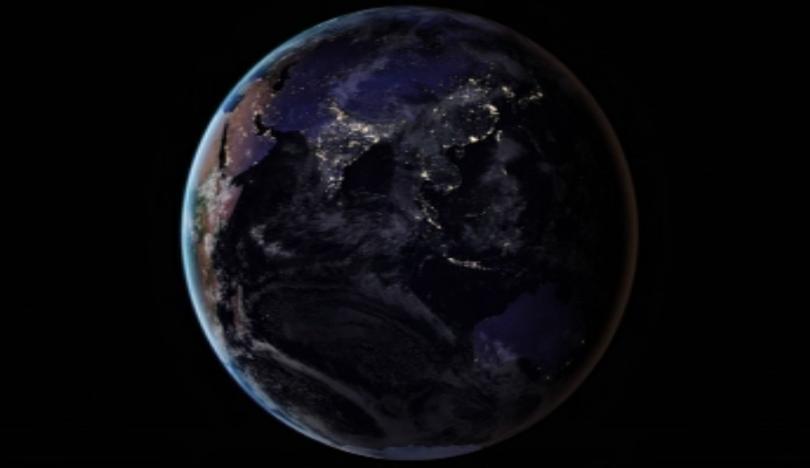 малък астероид прелети покрай земята края седмицата