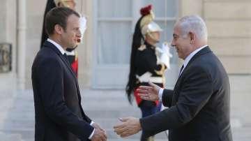 Макрон и Нетаняху почетоха паметта на евреите, загинали при парижките арести