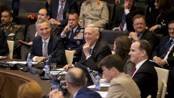 И днес Брюксел беше домакин на министерска среща на НАТО