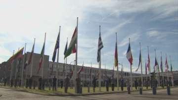 НАТО се сбогува със старата си централа в Брюксел
