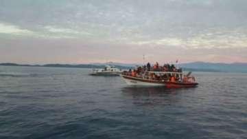 НАТО изпраща патрулни кораби в Егейско море заради бежанската криза