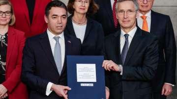 Македония подписа протокола за присъединяване към НАТО