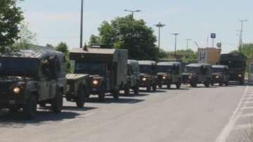 Първите конвои от военни и техника на НАТО вече у нас за мащабно учение