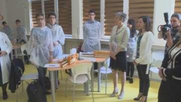 Център за природни науки беше открит в столичното 51-во училище
