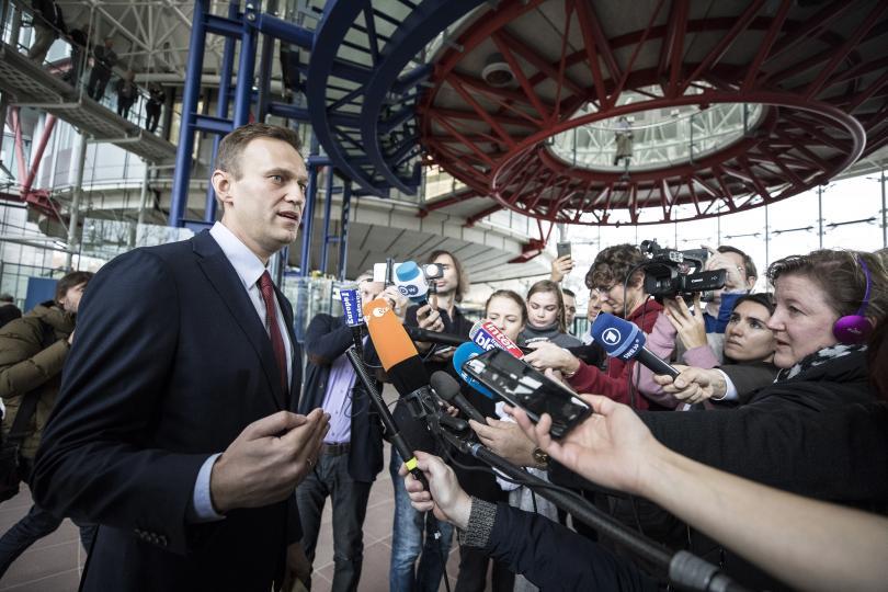 снимка 1 Съдът в Страсбург глоби Русия с 63 000 евро заради арестите на Навални