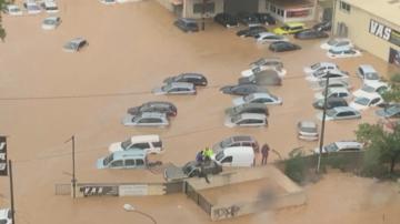Наводнения спряха високоскоростните влакове между Франция и Испания