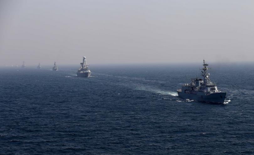Плавателните съдове от Военноморските сили на Германия, Турция, Румъния и