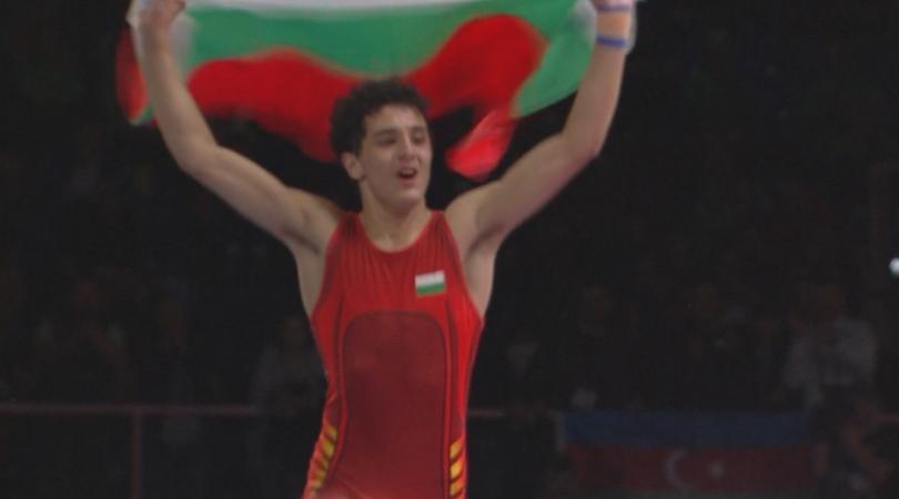 Борецът Едмонд Назарян триумфира с европейската титла до 55 кг