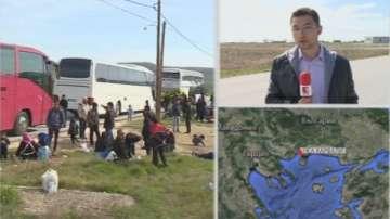 Идомени препълнен. Два нови бежански лагера в Неа Кавала и Хърсово