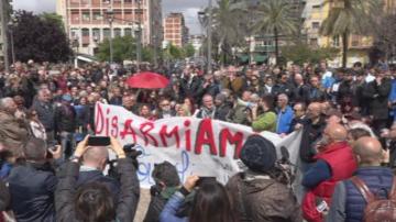 Протест срещу мафията в Неапол