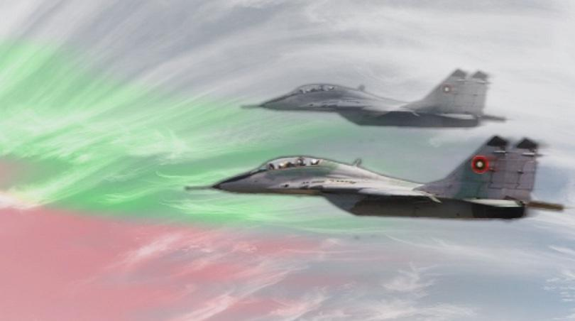 МО: Израелски самолет беше ескортиран от български изтребители