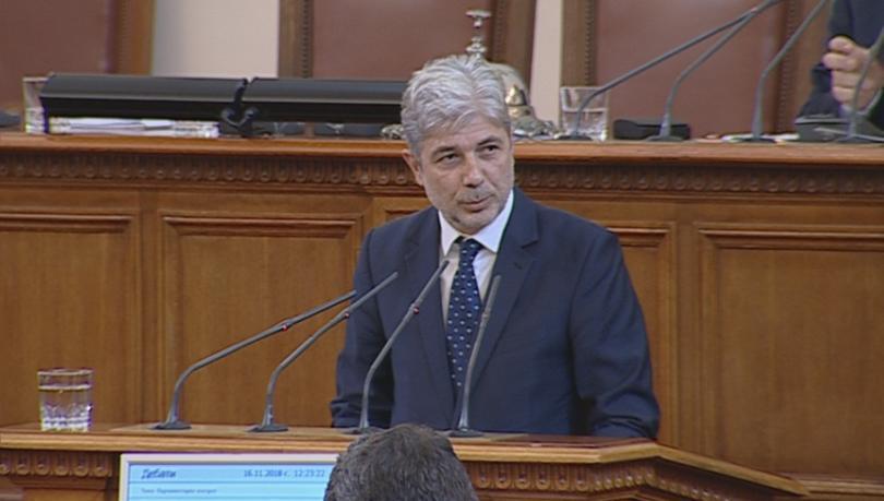 Снимка: Нено Димов ще запознае депутатите с мерките срещу мръсния въздух в страната